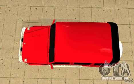 Mercedes-Benz G500 Brabus para GTA San Andreas vista direita