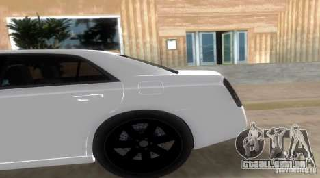 Chrysler 300C SRT V10 TT Black Revel 2011 para GTA Vice City deixou vista