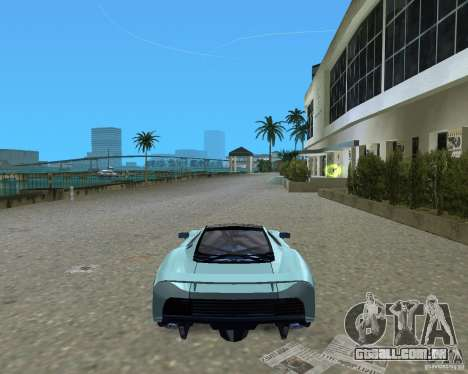 Jaguar XJ220 para GTA Vice City vista direita