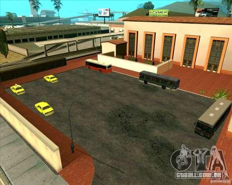 Priparkovanyj transporte v 1.0 para GTA San Andreas segunda tela