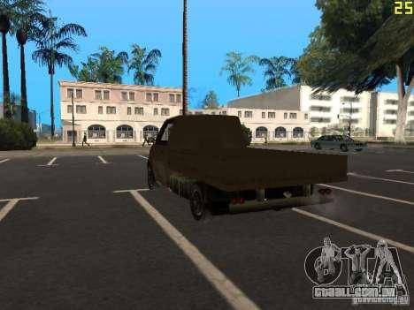 Moonbeam Pickup para GTA San Andreas esquerda vista