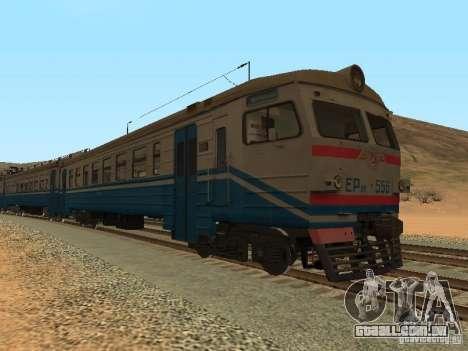 Er9m-556 para GTA San Andreas vista direita