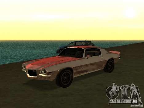 GFX Mod para GTA San Andreas décimo tela