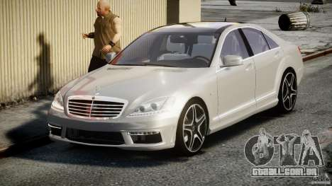 Mercedes-Benz S63 AMG [Final] para GTA 4
