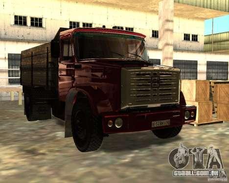 ZIL 433362 para GTA San Andreas