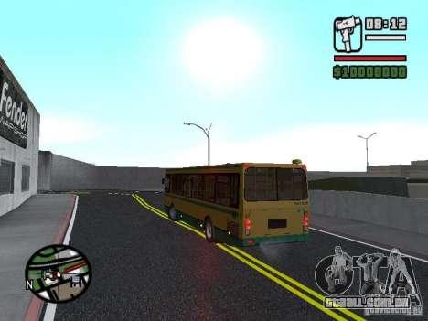 LIAZ 5283.01 para GTA San Andreas vista interior