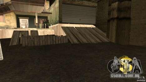 Compra da própria base para GTA San Andreas terceira tela