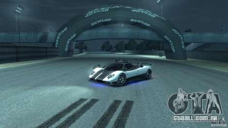 Pagani Zonda Cinque 2009 para GTA 4 vista interior