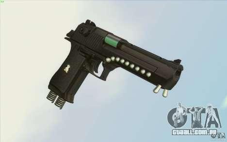 Low Chrome Weapon Pack para GTA San Andreas sexta tela