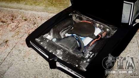 Pontiac GTO Judge para GTA 4 vista interior