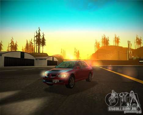 ENBSeries by Sashka911 v4 para GTA San Andreas por diante tela