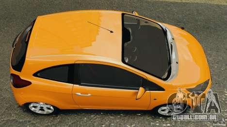 Ford Ka 2011 para GTA 4 vista direita