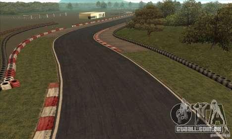 Faixa GOKART rota 2 para GTA San Andreas