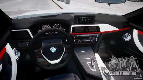 BMW 335i E30 2012 Sport Line v1.0 para GTA 4 vista direita