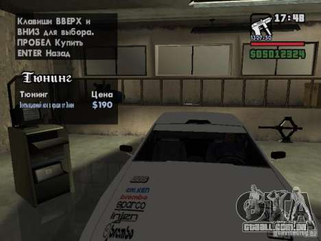 Ultra Elegy v1.0 para o motor de GTA San Andreas