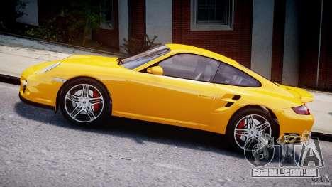 Porsche 911 Turbo V3.5 para GTA 4 esquerda vista