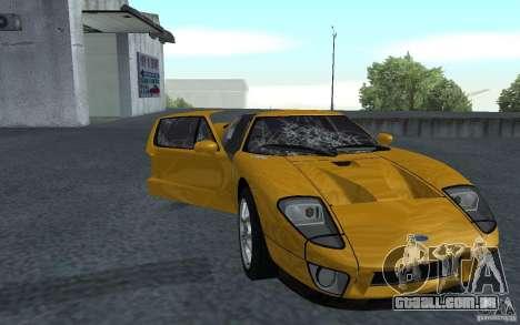 Ford GT 40 para GTA San Andreas esquerda vista