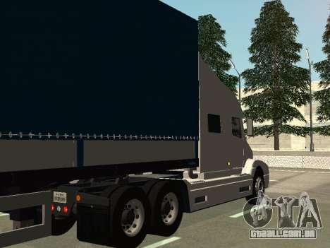 Volvo VNL para GTA San Andreas vista direita