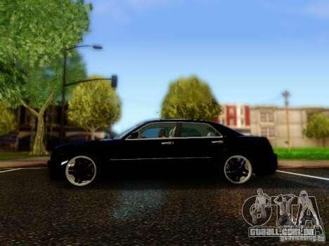 Chrysler 300C VIP para GTA San Andreas esquerda vista