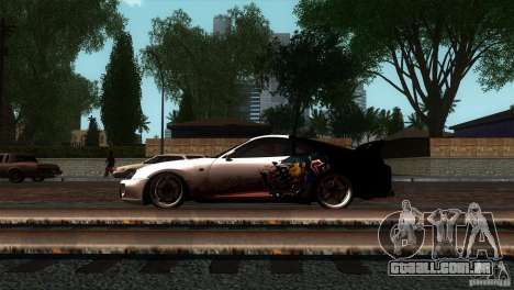 Toyota Supra RZ para GTA San Andreas esquerda vista
