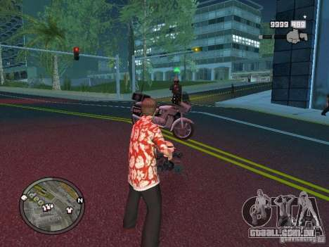 Tony Montana para GTA San Andreas sétima tela