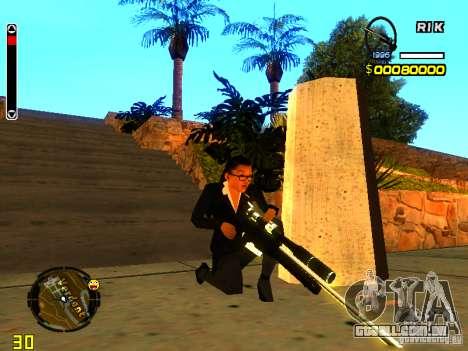 New AWP para GTA San Andreas segunda tela