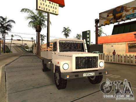 GAZ 3309 para GTA San Andreas vista direita