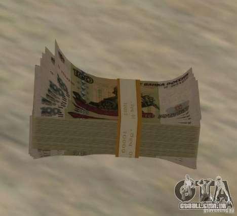 Russian-money para GTA San Andreas segunda tela