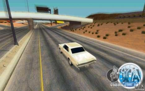 CraZZZy Speedometer v.2.1 Lite para GTA San Andreas segunda tela