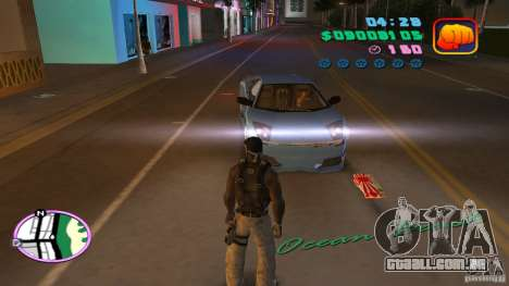 50 Cent Player para GTA Vice City por diante tela