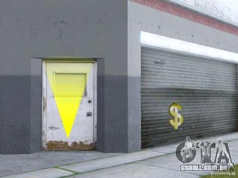 Negócios Cj v 2.0 para GTA San Andreas segunda tela