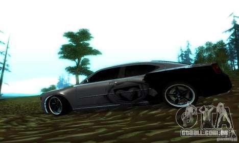 Dodge Charger SRT8 Mopar para GTA San Andreas esquerda vista