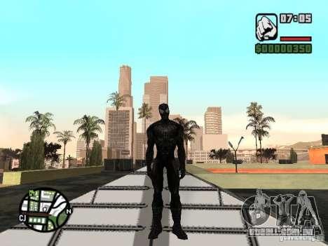 Inimigo do homem-aranha em reflexão para GTA San Andreas terceira tela