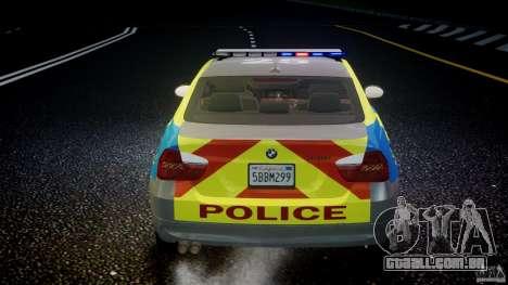 BMW 350i Indonesian Police Car [ELS] para GTA 4 rodas