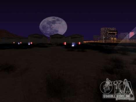 Luzes de tráfego ferroviário para GTA San Andreas quinto tela