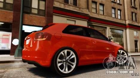 Audi S3 2010 v1.0 para GTA 4 esquerda vista