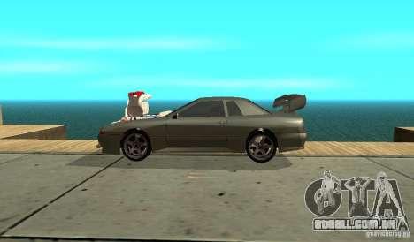 Elegy v1.1 para GTA San Andreas esquerda vista