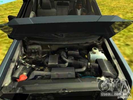 Ford F-150 Off Road para GTA San Andreas traseira esquerda vista