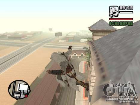 A capacidade do Assassins Creed para GTA San Andreas segunda tela