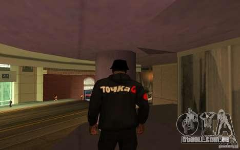 Jaqueta-ponto (G) para GTA San Andreas terceira tela