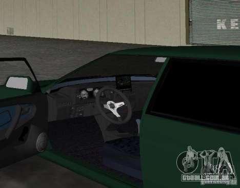 2109 VAZ Tuning v 2.0 para GTA Vice City vista traseira