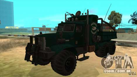 KrAZ 255 B1 Krazy-crocodilo para GTA San Andreas