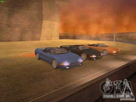 Infernus Revolution para GTA San Andreas vista traseira