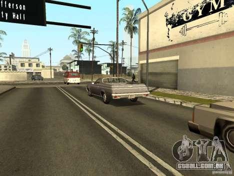 GFX Mod para GTA San Andreas oitavo tela