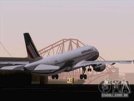 Airbus A320-211 Air France para GTA San Andreas interior