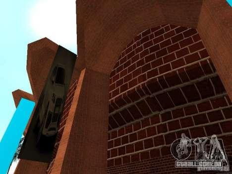 Novas texturas de Los Santos estádio Fórum para GTA San Andreas segunda tela