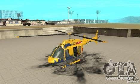 O helicóptero de turismo de gta 4 para GTA San Andreas