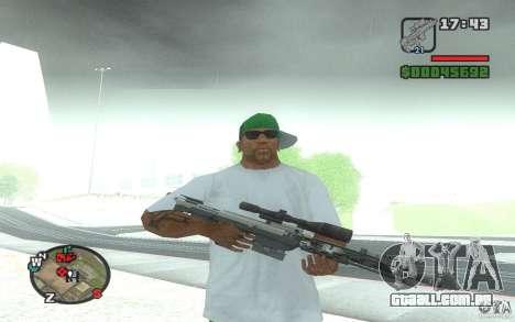 Um rifle sniper de um Ballad of Gay Tony para GTA San Andreas