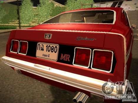 Mitsubishi Galant GTO-MR para GTA San Andreas esquerda vista