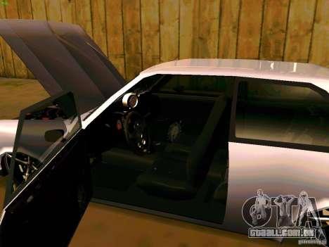 Chevrolet Chevette 1976 TDW Edit para GTA San Andreas vista traseira